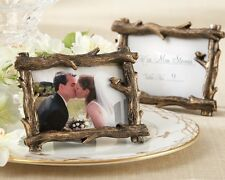 96 Scenic View Forest Tree Branch Photo Frame Place Card Holder Wedding Favor