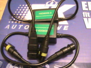 2 cable boitier boitiers cables anti erreur et interference pour kit xenon hid