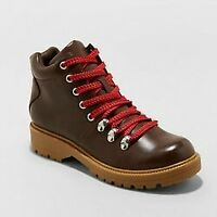 Women's Karri Lace Up Hiker Boots - Universal Thread, Brand New!!