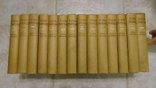 1928 LITTLE JOURNEYS Elbert Hubbard 14 Vol Book Set WITH DUST JACKETS Roycroft
