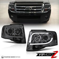 2007-2014 Ford Expedition |ARCTIC OPTIC| Smoke Projector Headlight LED Neon Tube