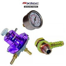 SYTEC FUEL PRESSURE REGULATOR KIT + FUEL GAUGE TOYOTA MR2 CELICA GT4 SOARER