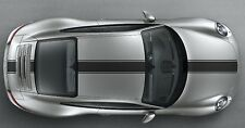 Porsche 911 (991) Bonnet /roof /Spoiler Stripe Decal Set Plain. Various Colours.