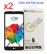 2x Gorilla Tempered Glass Screen Protector for LG Stylo 2 Plus K550 T-Mobile