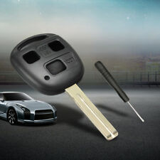 3 Buttons Remote Key Shell Case Blank Blade Fit Lexus Es300 IS300 GS300 RX350 US