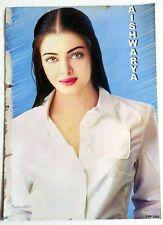 Rare Old Bollywood Actor Poster - Aishwarya Rai - 12 inch X 16 inch