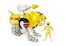 Imaginext CJR26 Power Rangers Yellow Ranger And Sabertooth Zord Figure