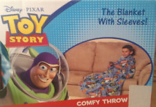 Disney Pixar Toy Story Fleece Throw Blanket with Sleeves