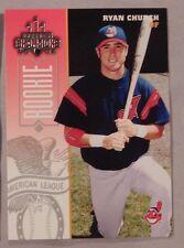2003 Donruss Champions  #86 Ryan Church Cleveland Indians Card