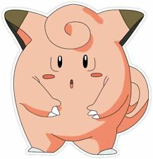 """Pokemon Clefairy Cartoon Removable Wall Sticker Decal 23"""""""