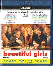 BEAUTIFUL GIRLS de Ted Demme Combo BLU-RAY-DVD Tarifa plana en envío España 5 €