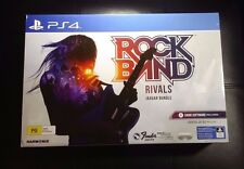 RockBand Rivals Rock Band Wireless Fender Jaguar Guitar Bundle PlayStation 4 PS4