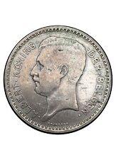 Belgique 20 Francs Albert Ier 1934 en Argent