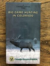 Big Game Hunting In Colorado VHS Outdoors Video