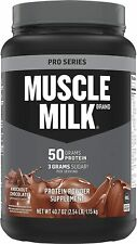 Muscle Milk Pro Series Protein Powder Knockout Chocolate 50g Protein 2.54 lb