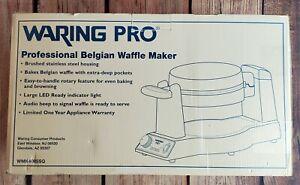 Waring Pro Belgian Waffle Maker WMK400 BRAND NEW IN BOX 2011 NIB Hotel Style SSQ