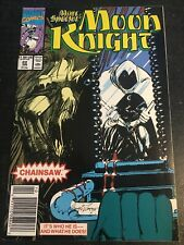Marc Spector,Moon Knight#22 Incredible Condition 9.4(1991) Vs Chainsaw!!