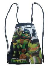 Ninja Turtles Tote Reusable Shopping Toy Bag Draw String Green Skate 14013312