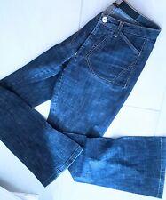 GIRBAUD Marithe F. Avantgarde Hose Jeans HIGH USE (S/34) TRAUMHAFT Lasercut NEU