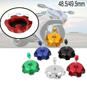 48.5/49.5MM CNC Gas Fuel Tank Cap Cover Valve Breather Dirt SSR Coolster Durable