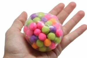 DNA Ball Squishy 5yrs+ Special Needs Visual Tactile Fidgets Strength ASD 2493