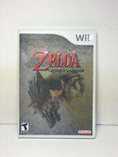 WII The Legend Of Zelda Twilight Princess Video Game