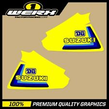 SUZUKI RM250 RM400 1979-80 EVO MX DECALS TANK GRAPHICS STICKERS OEM 1979 DG