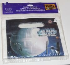8 STAR WARS PARTY GOODIE TREAT SACKS PARTY EXPRESS NEW IN PACKAGE SEALED 1997