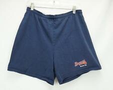 VTG 1996 Russell Athletics Atlanta Braves Shorts Made in USA Blue Men's Medium