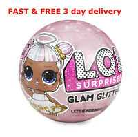 LOL Dolls Surprise Ball 7 Surprises Child's Girl Toy Glitter Dalls Series 2 NEW