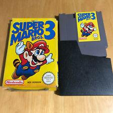 SUper Mario Bros 3 Boxed Game - Nintendo NES PAL