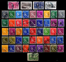 FINLAND: 1940'S STAMP COLLECTION