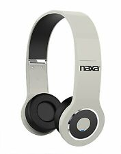 Naxa Bluetooth Wireless rechargeable Headphones w/ Built-in Microphone USB Cable