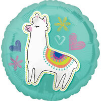 Llama Foil Balloon Mexican South American Peru Party Decorations