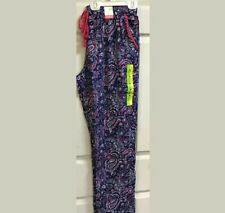 Ladies Pj Pyjama Bottoms Cotton Soft Nightwear 100/%Viscose Floral Size 8//10 S11