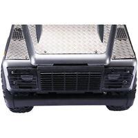 Für MN Land Rover Defender D90 Metall Front Lampenschirm Licht Lampenabdeckung