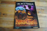 Livre WARHAMMER 40000 40K CODEX OEIL DE LA TERREUR (Version Française)