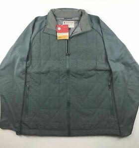 Redington Mens 2XL Core Insulated Slate Casting Fly Fishing Jacket NWT $150