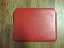 Piel Frama Cinema Genuine Leather Case & Stand For iPad RED