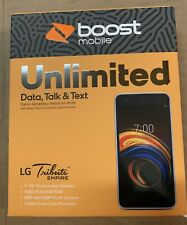NEW - BOOST MOBILE Prepaid LG Tribute Empire Smart Phone  16GB - SEALED