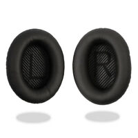 Black Ear Cushion Kit Bose QuietComfort 35 QC35 Headphones Pads Cups Replacement