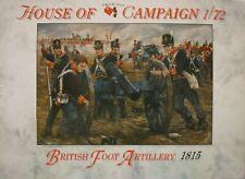 A Call To Arms 1/72 British Foot Artillary 1815 Pro 64