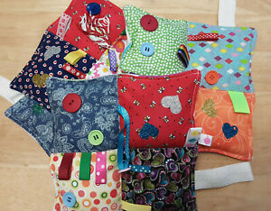 Weighted Lap Pads, Portable Fiddle Pads, Dementia, Autism, Anxiety, Sensory,