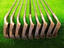 Mens RH Ping Zing 2 Black Dot Iron Set 2-PW JZ Stiff Steel Golf Clubs Karsten
