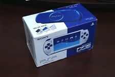 PlayStation Portable PSP-3000 White/Blue Console boxed Japan system US Seller