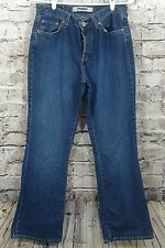 Mavi Womens Jeans Size 29/30 Buttonfly Molly Flare Medium Wash   (w-280)