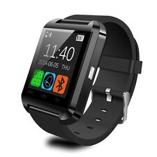 Bluetooth Smart Watch For Samsung iPHONE IOS Android Brand Wrist SLIM Black