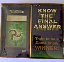 VINTAGE HERBKO GAME BOARD QUIZ'R GAME SHOW COMPANION KNOW THE FINAL ANSWER (A)