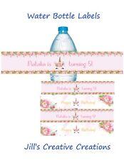 Unicorn water bottle labels, Unicorns, Unicorn birthday, Water bottle labels