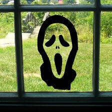 SPOOKY Halloween Maschera Scream Finestra Adesivo Decalcomania Orrore Zombie HOME DECOR AUTO